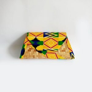 kente with bamboo