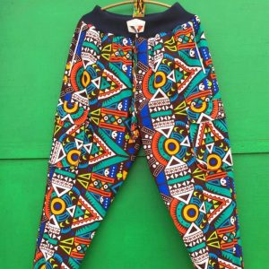 African Print trouser 8a