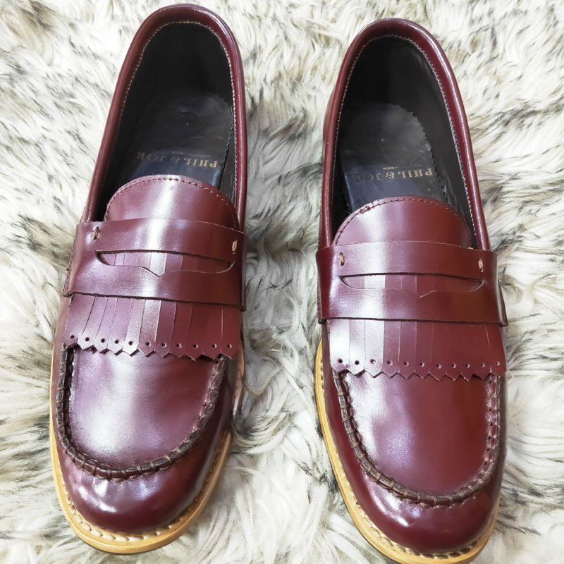 Ospba Muse Wine colored Penny Loafers