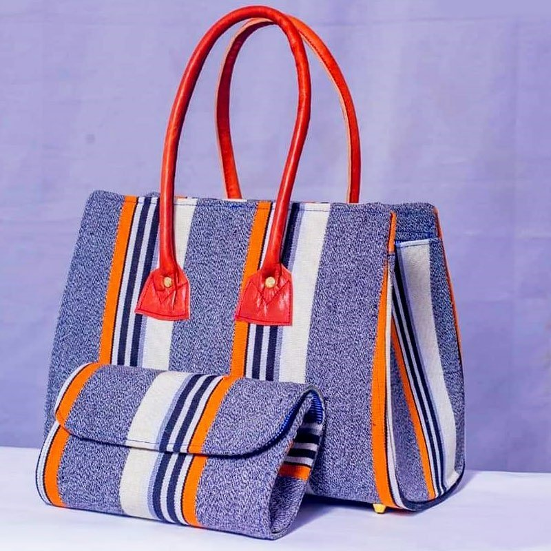 African print hand bag1ab