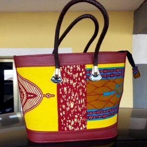 African print hand bag9