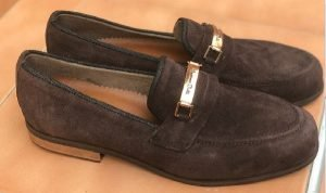 Coffee brown loafers