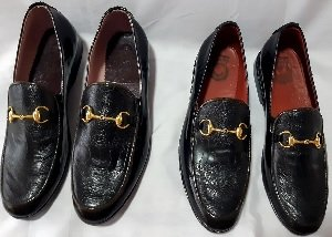 Gold Bit Leather Loafers.2